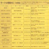サークル特集NO.1(保存版)