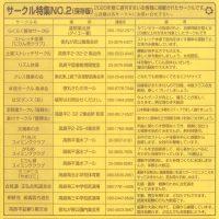 サークル特集NO.2(保存版)